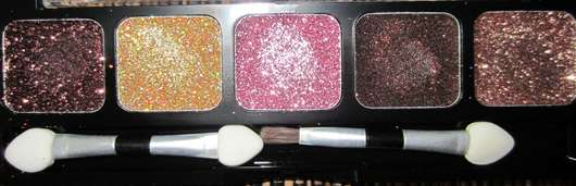 NYX Glitter Cream Palette, Farbe: 09 Sweet Chocolate Browns