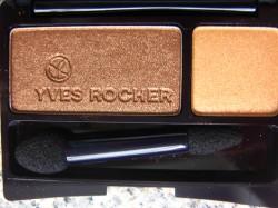 Produktbild zu Yves Rocher Couleurs Nature Intense Colour Duo Eyeshadow – Farbe: 33 Sable Et Ambre