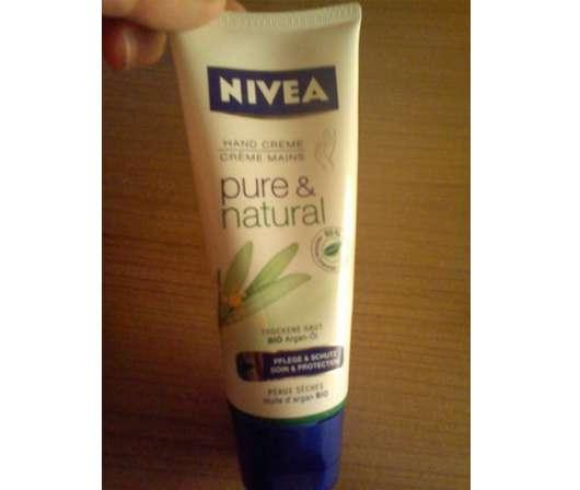 Nivea Pure & Natural Handcreme