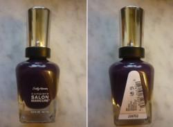 Produktbild zu Sally Hansen Complete Salon Manicure Nagellack – Farbe: 640 Plum Luck