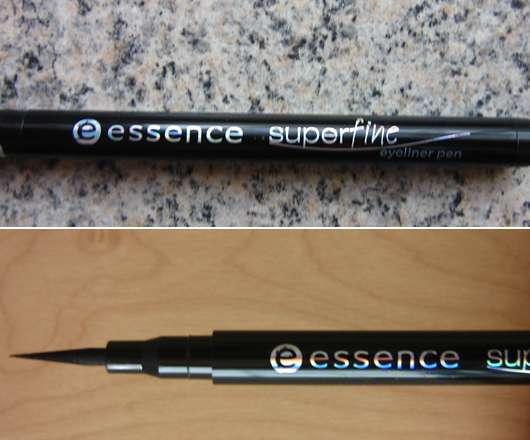 essence superfine eyeliner pen, Farbe: 01 deep black