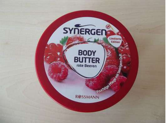 Synergen Body Butter Rote Beeren (LE)