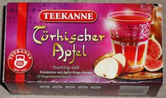 Teekanne Türkischer Apfel Früchtetee