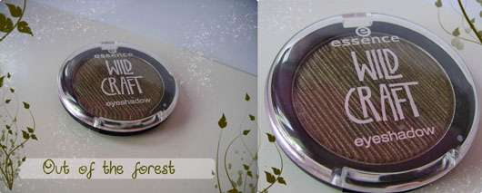 essence wild craft eyeshadow, Farbe: 02 out of the forest (LE)