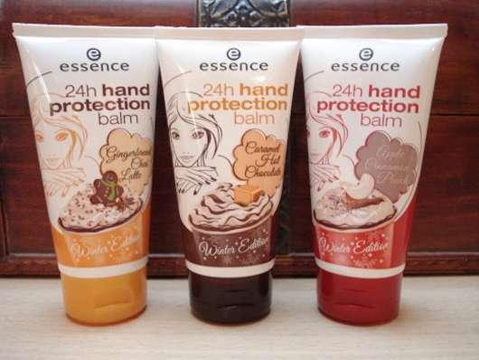 essence 24h hand protection balm – Winter Edition 2012 (alle 3 Sorten)