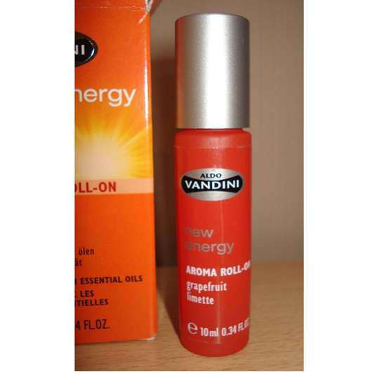 Aldo Vandini new energy Aroma Roll-On Grapefruit Limette