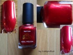 Produktbild zu LCN Nail Polish – Farbe: Rubin Red