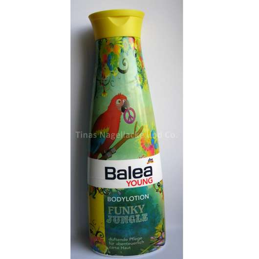 <strong>Balea Young</strong> Bodylotion Funky Jungle (LE)