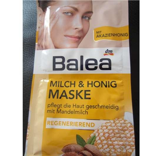 test maske balea milch honig maske regenerierend testbericht von kleinejana. Black Bedroom Furniture Sets. Home Design Ideas
