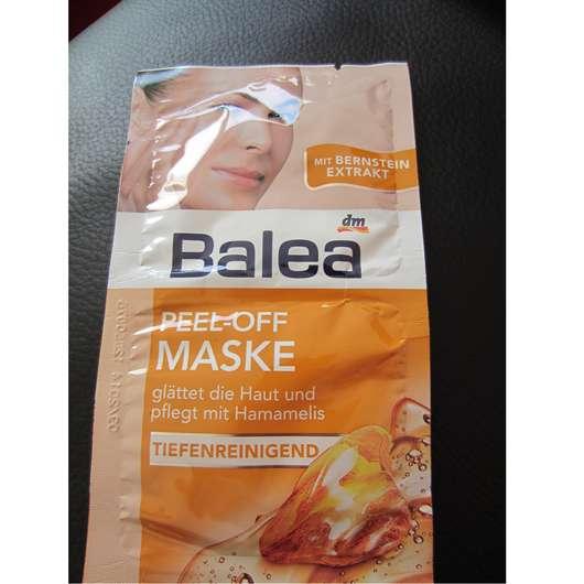 test maske balea peel off maske tiefenreinigend. Black Bedroom Furniture Sets. Home Design Ideas