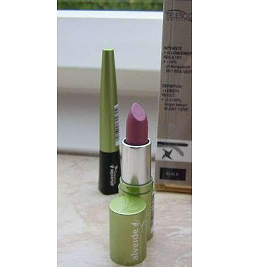 test lippenstift alverde lippenstift farbe 21 berry testbericht von sunny 993. Black Bedroom Furniture Sets. Home Design Ideas