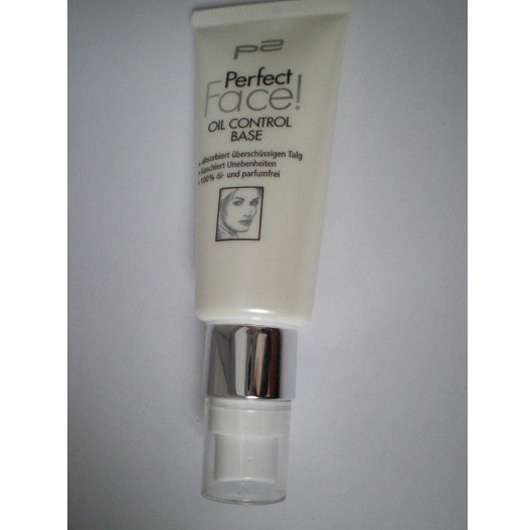 p2 perfect face! oil control base
