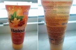 Produktbild zu Balea Creme-Öl Duschpeeling Indian Chai (LE)