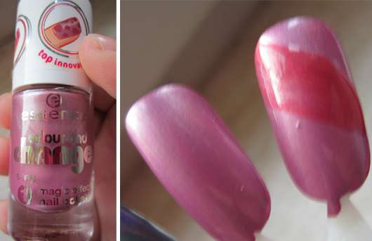 essence colour and change magic effect nail polish, Farbe: 03 sweet surprise