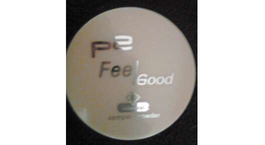 p2 feel good compact powder, Farbe: 040 sand pearl