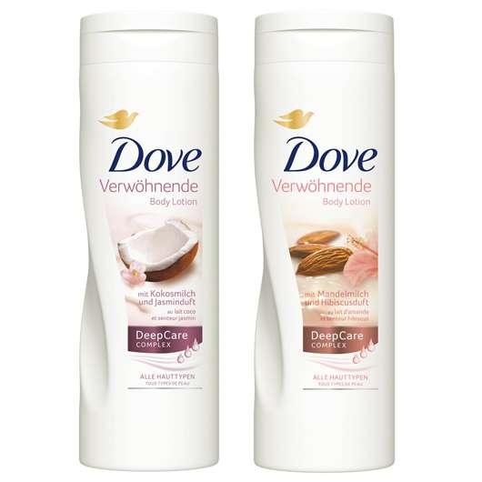 """Die neuen """"Verwöhnenden Body Lotions"""" von Dove"""