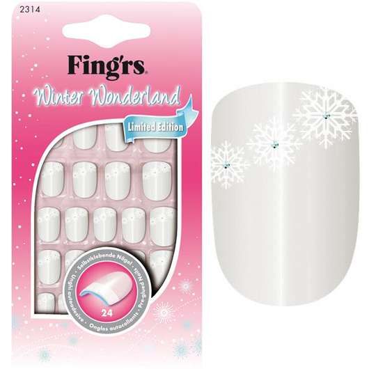 Winter Wonderland Nails von FING'RS