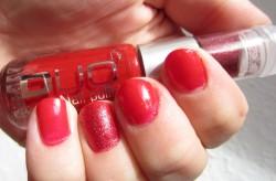 Produktbild zu Jofrika Cosmetics Duo Nail Polish – Farbe: Rot