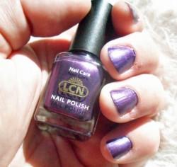 Produktbild zu LCN Nail Polish – Farbe: 335 Violet Amethyst (Trend Edition)