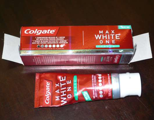 Colgate Max White One Fresh Zahncreme