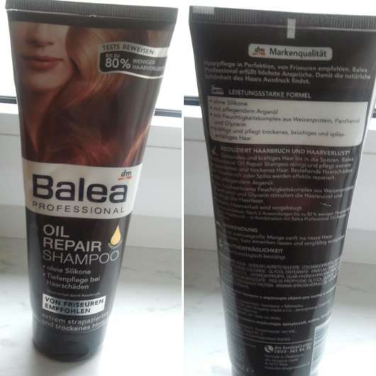 Balea Professional Oil Repair Shampoo