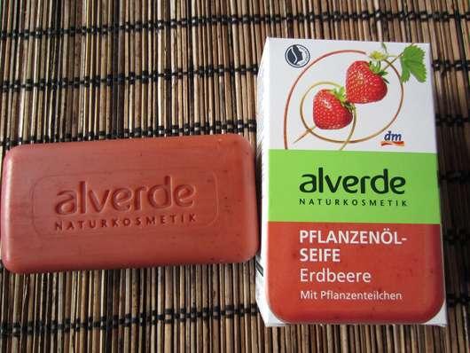 """alverde Pflanzenölseife """"Erdbeere"""""""