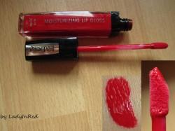 Produktbild zu IsaDora Moisturizing Lip Gloss – Farbe: 21 Red Carpet (LE)