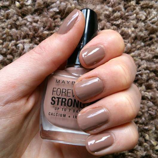 Maybelline Jade Forever Strong Nagellack, Farbe: 778 Rosy Sand