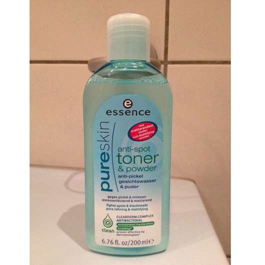 essence pure skin anti-spot toner & powder