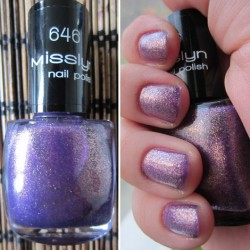 Produktbild zu Misslyn nail polish – Farbe: 646 Las Vegas