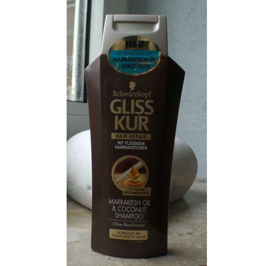 Schwarzkopf Gliss Kur Hair Repair Marrakesh Oil & Coconut Shampoo
