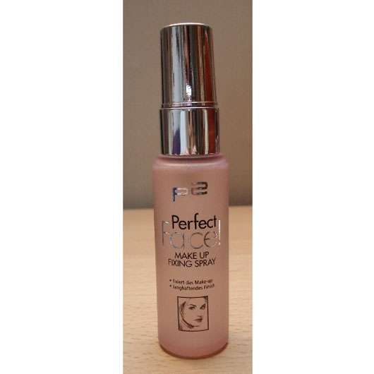 p2 perfect face! make up fixing spray