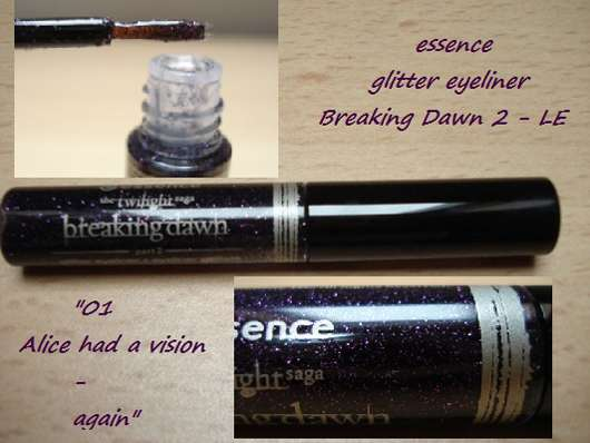 essence the twilight saga: breaking dawn – part 2 glitter eyeliner, Farbe: 02 alice had a vison – again (LE)