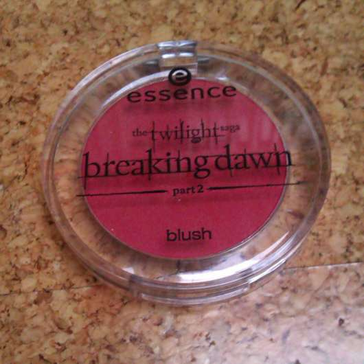 essence the twilight saga: breaking dawn – part 2 blush, Farbe: 01 renesmee red (LE)