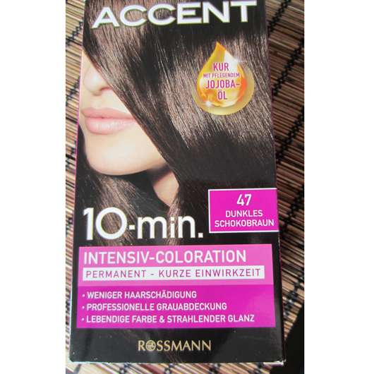 <strong>Accent</strong> 10-Minuten Intensiv-Coloration - Nuance: 47 Dunkles Schokobraun