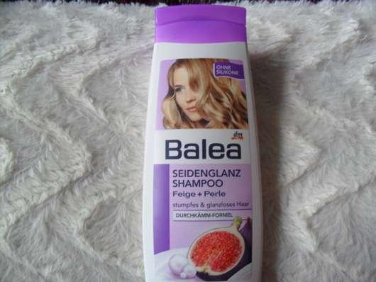 Test - Shampoo - Balea Seidenglanz Shampoo Feige + Perle