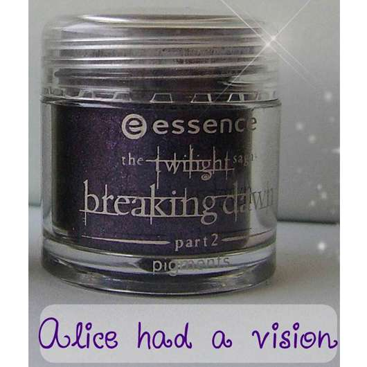 essence the twilight saga: breaking dawn – part 2 pigments, Farbe: 02 alice had a vison – again (LE)