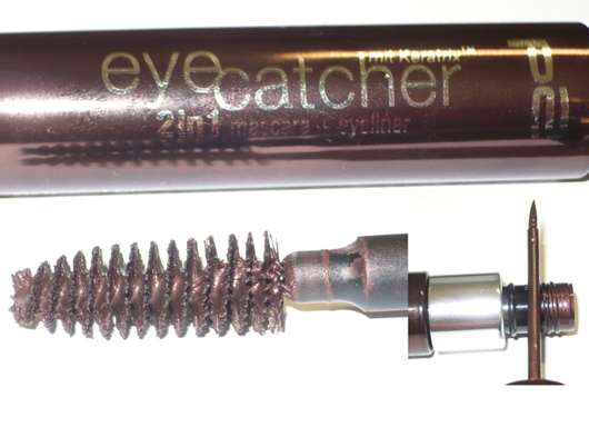 p2 eyecatcher 2in1 mascara + eyeliner, Farbe: 040 magic of asia