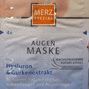 Merz Spezial Augenmaske Hyaluron & Gurkenextrakt (4 Portionen)