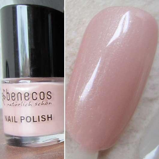 Test Nagellack Benecos Nail Polish Farbe Sharp Ros 233 Testbericht Von Kleinejana