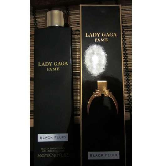 Lady Gaga Fame Black Shower Gel