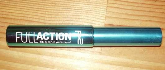 p2 full action dip eyeliner waterproof, Farbe: black energy