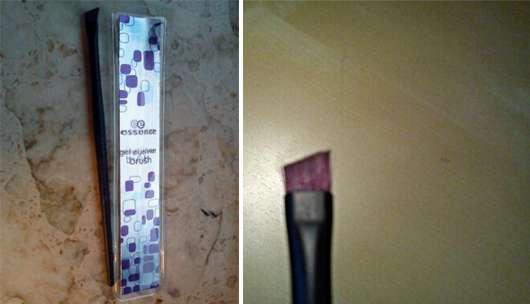 essence gel eyeliner brush