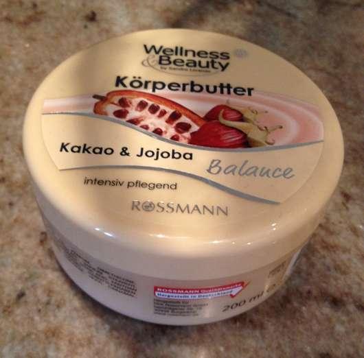 Wellness & Beauty Körperbutter Kakao & Jojoba