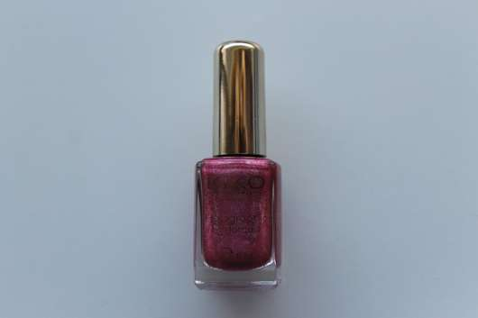 KIKO holographic nail lacquer, Farbe: 402 Jewel Pink (LE)