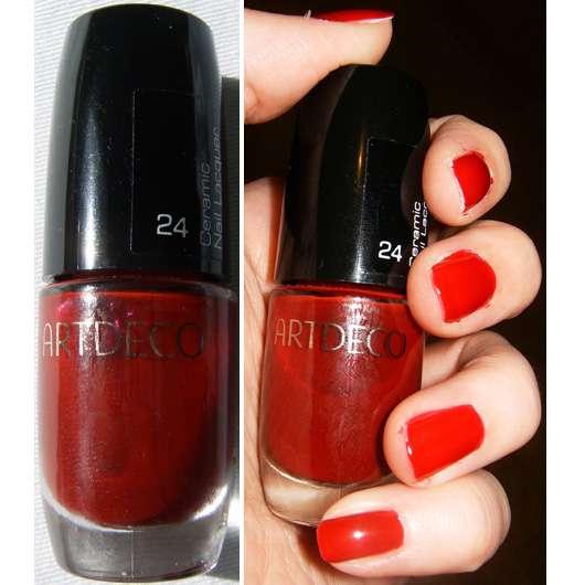 test nagellack artdeco ceramic nail lacquer farbe 24 testbericht von nerorose. Black Bedroom Furniture Sets. Home Design Ideas