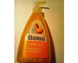 Produktbild zu Balea Creme Seife Mango & Papaya