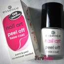 essence nail art peel off base coat