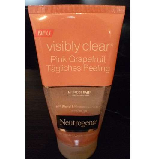 Neutrogena Visibly Clear Pink Grapefruit Tägliches Peeling