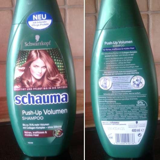 test shampoo schauma push up volumen shampoo. Black Bedroom Furniture Sets. Home Design Ideas